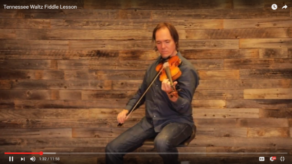Free Fiddle Lesson – Tennessee Waltz