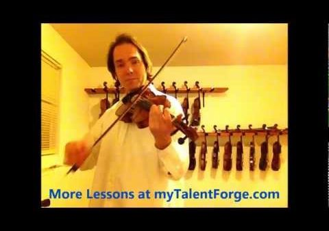 Free Fiddle Lesson – Turkey in the Straw
