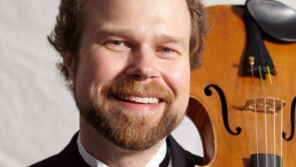 David Doc Wallace with viola