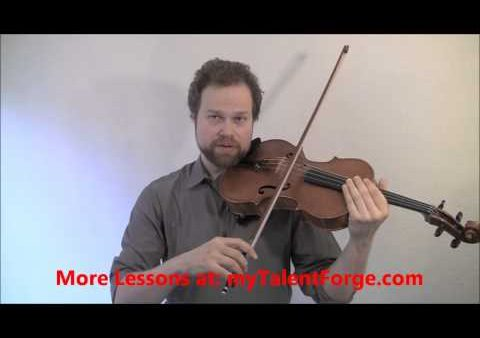 Free Bowing Lesson – Josef Gingold's 5 Minute Bow