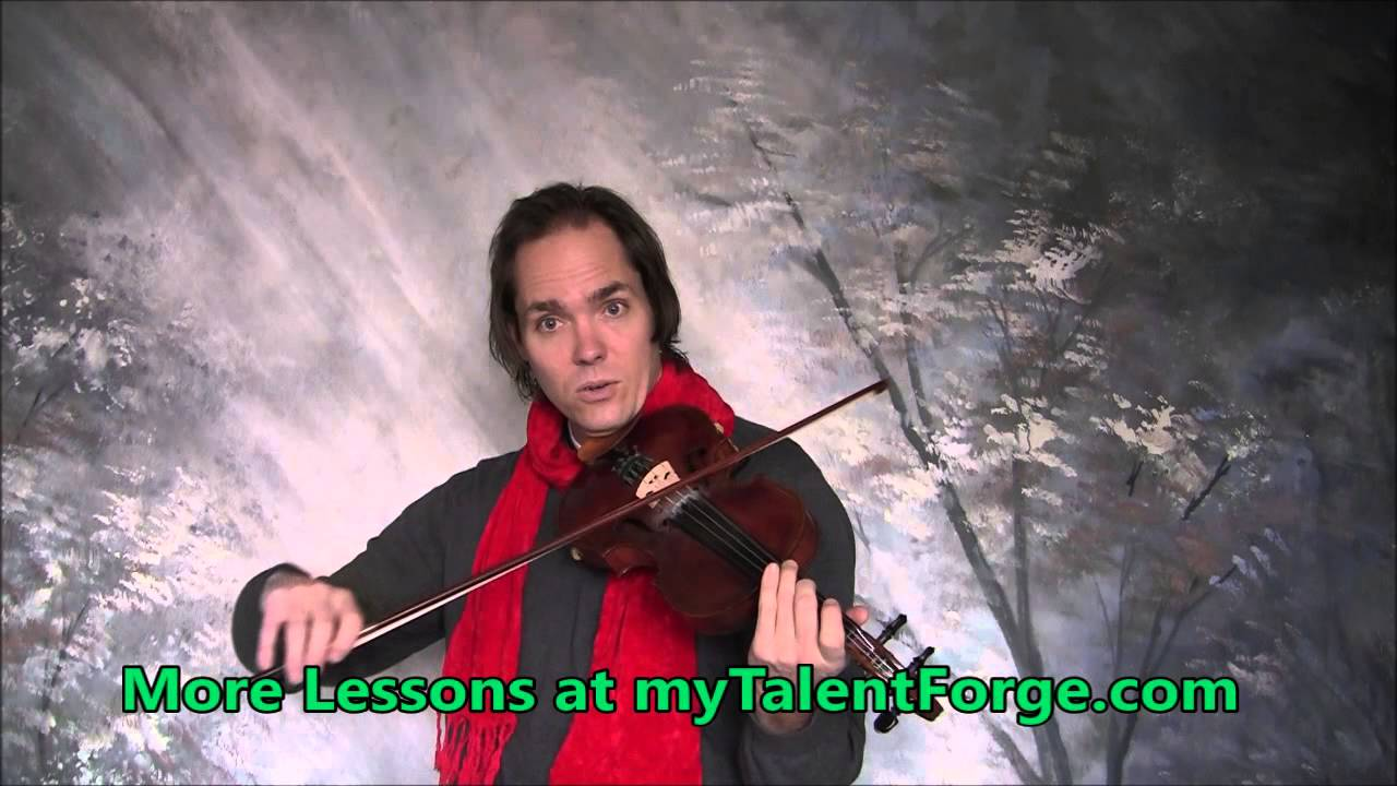 Greensleeves Violin Lesson