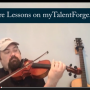 free fiddle lesson - johnny gimble lick