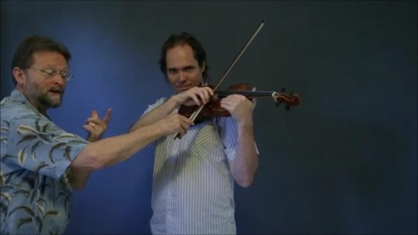 Beginning Strings for Teachers - Lesson 6 - Putting the Bow on the Violin