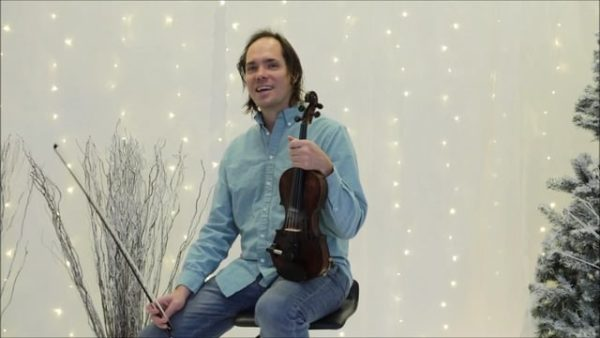 Beginning Intermediate Fiddle Lesson - Christmas is Coming