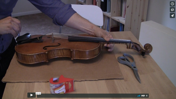 LHLH - Lesson 6 - Cardboard Fiddle Trick