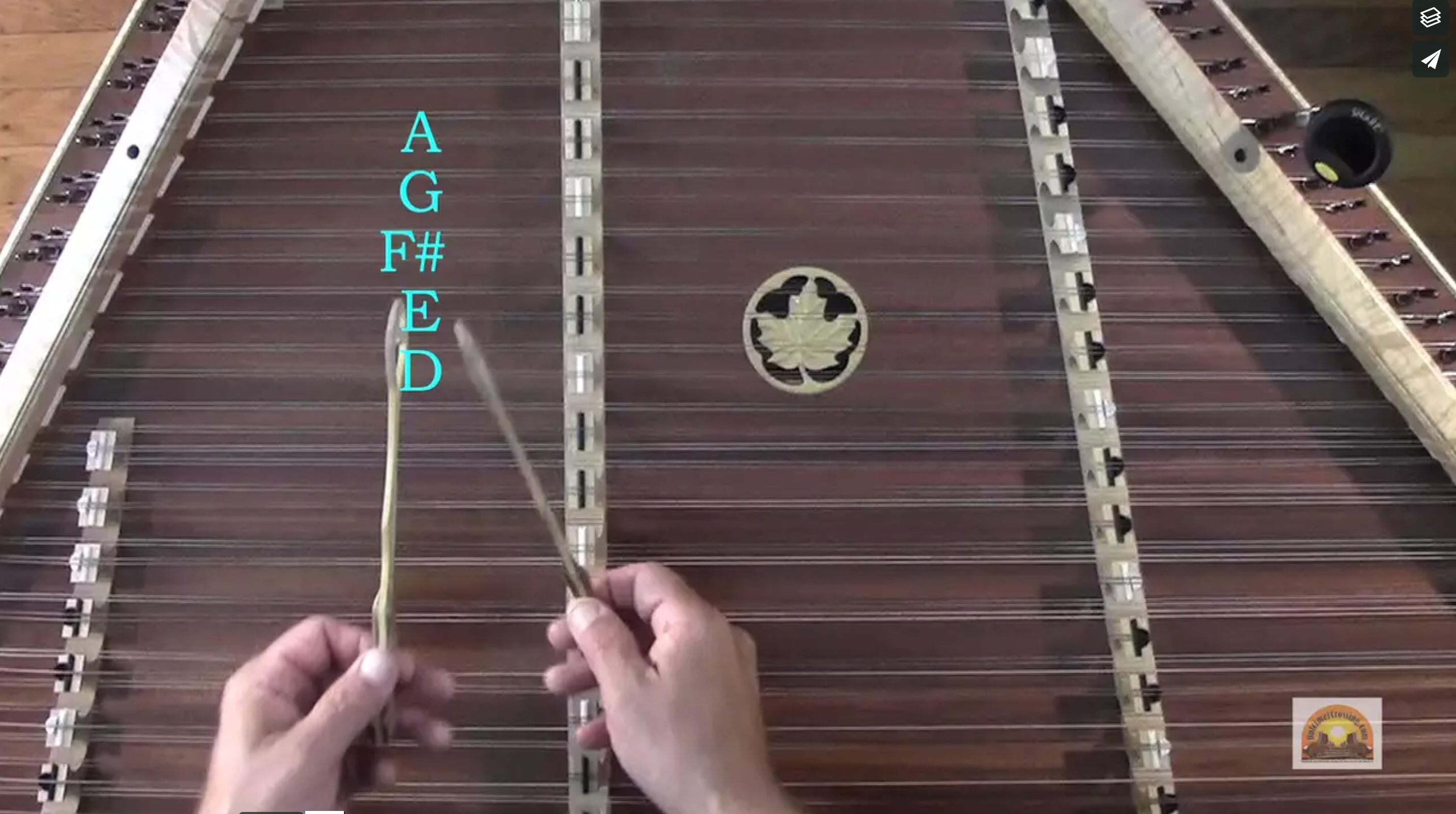 Barlow Knife Lesson 2 (A Series) - Dulcimer Crossing