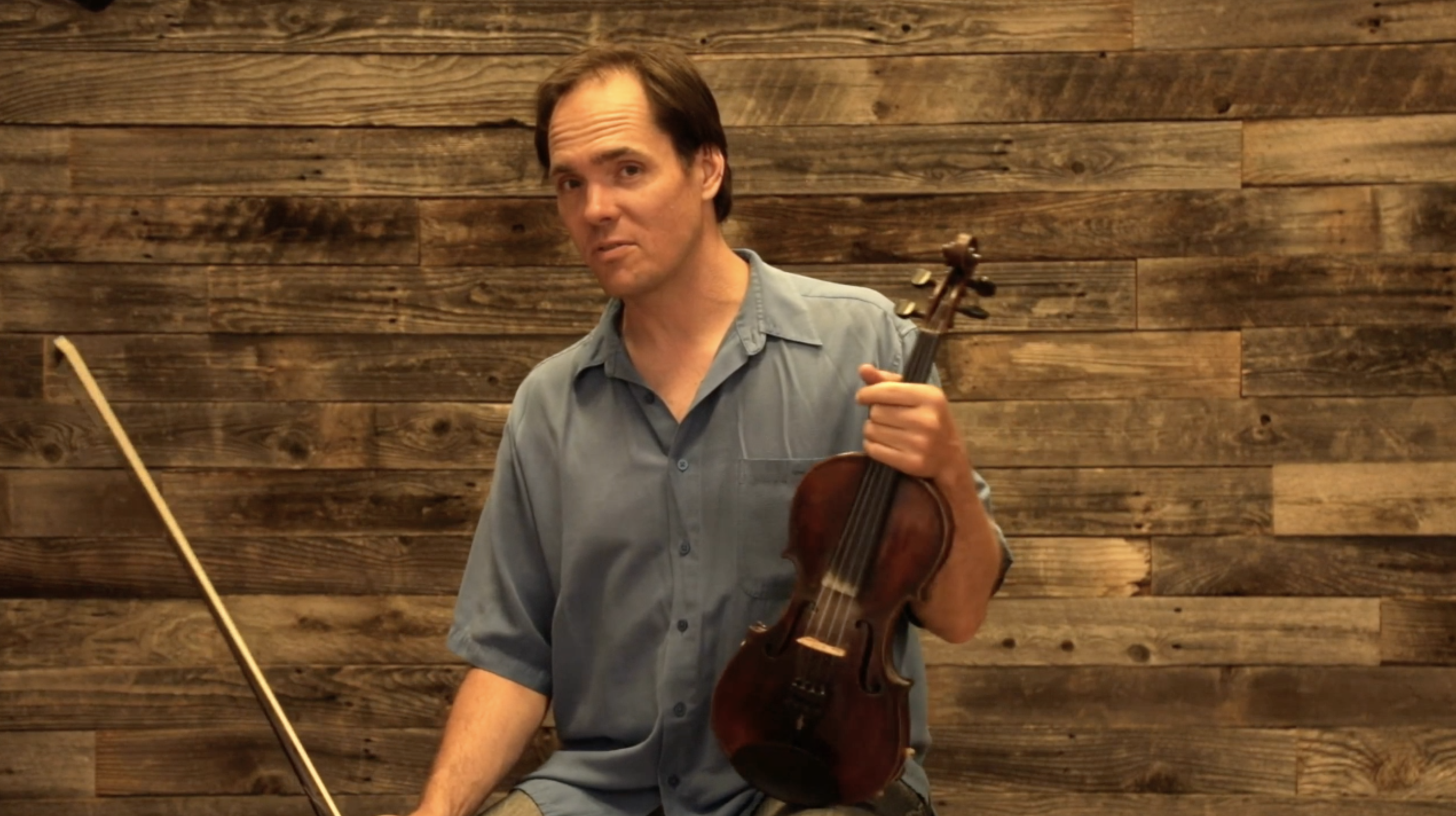 Demonstration of Shifting in 3rd Position - D String