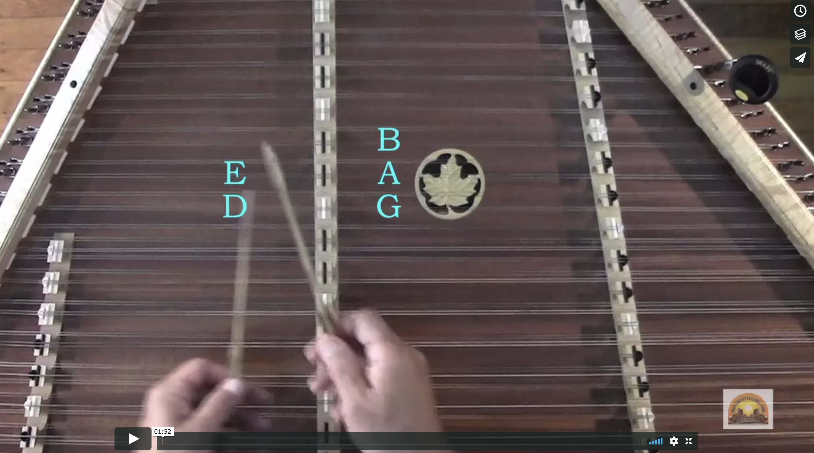 Barlow Knife (A Series) - Dulcimer Crossing - Lesson 5